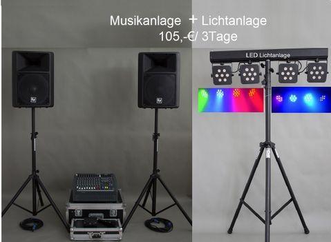 Musikanlagenverleih, gudensberg, DJ Kassel