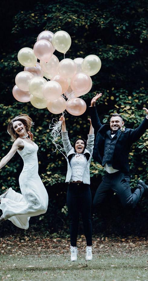 DJ Musikband Moderation für russische Hochzeit