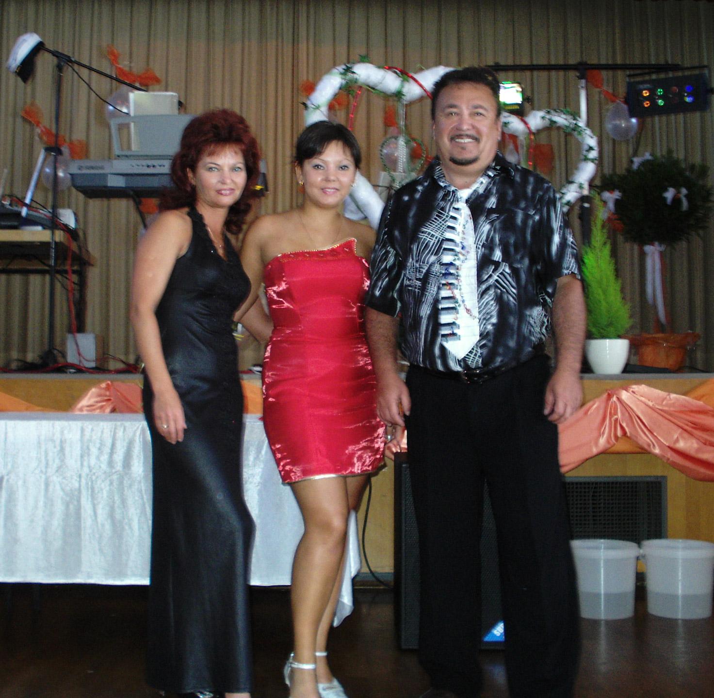 erste Hochzeit von Tamada Katja
